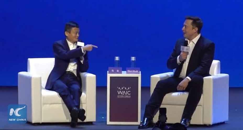Artificial Intelligence (AI) vs. human intelligence: Watch the face-off between Elon Musk and Jack Ma – TechStartups.com