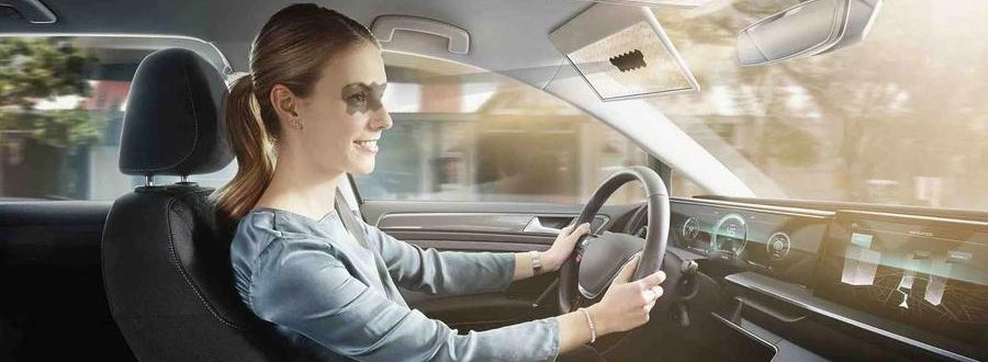 Bosch creates a sun visor that automatically blocks the sun